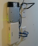 Router and Modem - Front